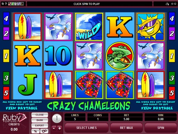 Ruby Fortune Casino Screenshot